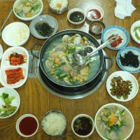 Awesome lunch in Busan