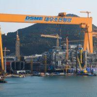 DSME gantry crane