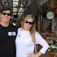 Dana and Jeff Adam SK Tours 5 market