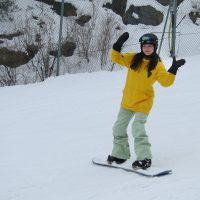 Muju Jaeun snowboard
