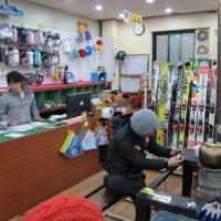 Muju ski shop inside