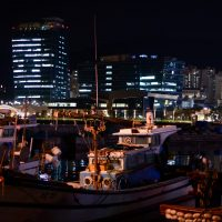 Ocean Plaza with boats 1
